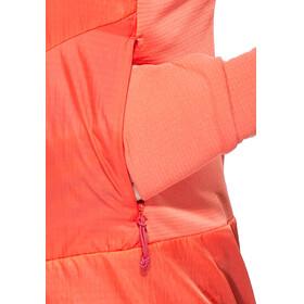 Salewa Pedroc PTC Alpha - Chaqueta Mujer - naranja/rojo
